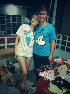 The Smurfs cute couple tshirts. design one for your loved.