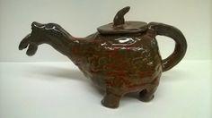 Coil tea pot