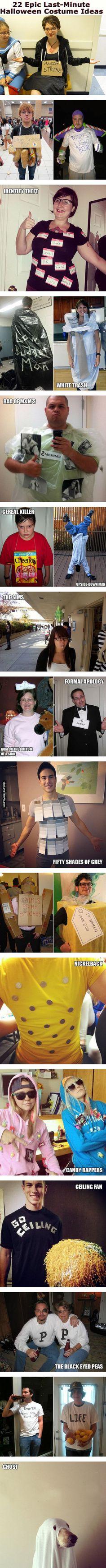 22 Epic Last Minute Halloween Costume Ideas