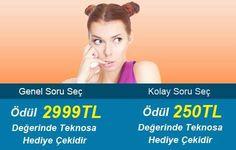 Herkese göre soru, herkese göre ödül 1 Bil 1 Bilgi Yarışması'nda mevcut!  Pamuk eller telefonlara!  http://www.1bil1.com/