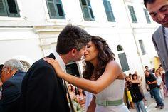 Greek Wedding, Corfu, Wedding Moments, Most Beautiful, Kiss, Bride, Couple Photos, Couples, Vintage