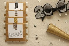 DIY New Years Eve Favors