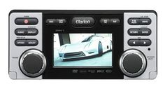 Clarion CMV1 DVD/CD/MP3/WMA Receiver with USB Port by Clarion. $499.98. Amazon.com                 Clarion's CMV1 is a DVD receiver packed with entertainment options. Play back DVDs and CDs, your digital MP3/WMA/AAC and DivX files, and control your iPod directly. Enjoy the show on the 3.5-inch display or go with external video monitors. The CMV1 features technologies to give you warm, detailed audio--fifty watts of it through four channels. Looking to build a larger system...