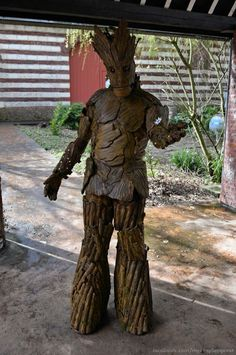 Groot from Guardians of the Galaxy.