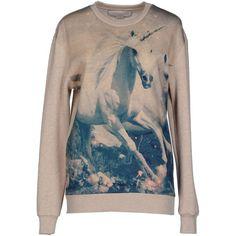 Stella Mccartney Sweatshirt ($275) ❤ liked on Polyvore