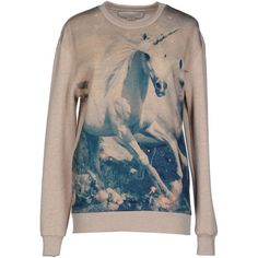 Stella Mccartney Sweatshirt ($275) ❤ liked on Polyvore