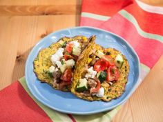 Get this all-star, easy-to-follow Zucchini Taco Shells with Beef and Zucchini-Tomato Salsa recipe from Nikki Dinki