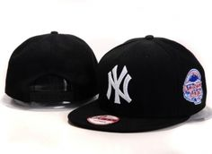 Casquette New York Yankees MLB Snapback Noir Casquette New Era Pas Cher