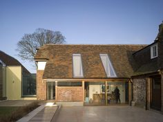 conversion + alteration - Home Farm - Kent - Guy Hollaway