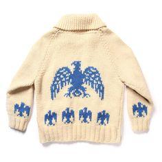 """vintage """"blue eagle"""" sweater"""