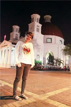 Holiday-Church-Christiani-Blenduk-Semarang-JawaTengah-Nusantara-Indonesia