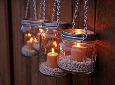 romantisch wohnen hängende windlichter selber machen ähnliche tolle Projekte und Ideen wie im Bild vorgestellt findest du auch in unserem Magazin