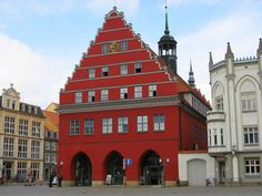 greifswald town hall, Germany