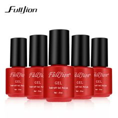 Fulljion Brand 30 Colors Gel Nail Polish UV Gel Nail Polish Long-lasting Soak-off LED UV Gel Color  Nail Gel 1Pcs Nail Art Tools