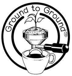 Using coffee grounds in the garden has reached another level!