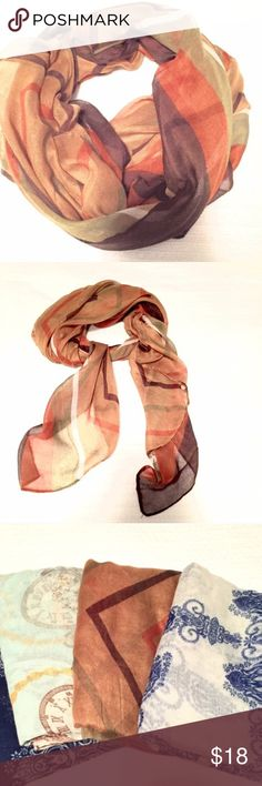 Splendid Summer Scarf/Wrap Luxurious and lightweight. Wear it as a layered scarf or as a wrap over bare arms. 67 inches long. 🌸NO TRADES Or Off Posh Transactions. Thanks🌸 Accessories Scarves & Wraps