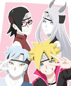 Anime Naruto, Kid Naruto, Naruto Uzumaki Art, Naruto Comic, Sarada Uchiha, Naruto Girls, Naruto Shippuden, Anime Manga, Boruto