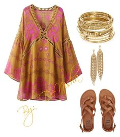 Boho Chic by nico101 on Polyvore featuring polyvore, fashion, style, Billabong, ABS by Allen Schwartz, Capwell + Co and clothing