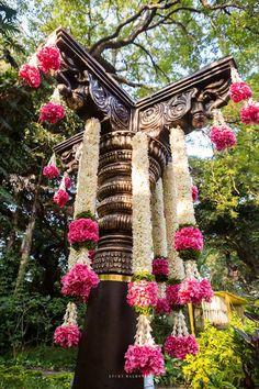 Need ideas for a splendid Mehndi decoration setup? Wedding Hall Decorations, Marriage Decoration, Diwali Decorations, Garland Wedding, Festival Decorations, Flower Decorations, Wedding Mandap, Wedding Dresses, Perfect Day