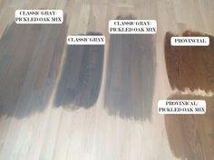 Gray Minwax Stains on Red Oak Wood Floors | www.TheArtesianProject.wordpress.com:
