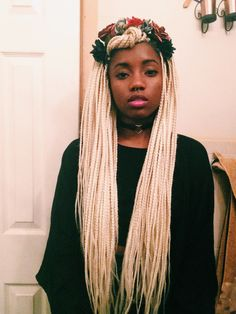 ofcourseblackisbeautiful:  yourghoulfriend:  Box braids and...
