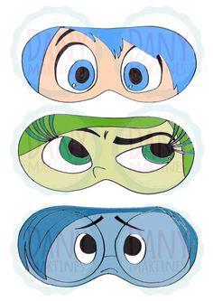 Máscara de Dormir - Divertida Mente Assista o tutorial: https://www.youtube.com/watch?v=XyohkAMefZk