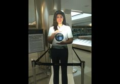 Dulles Airport Adds A Virtual Assistant Named Paige At Customs Checkpoint (PHOTOS)