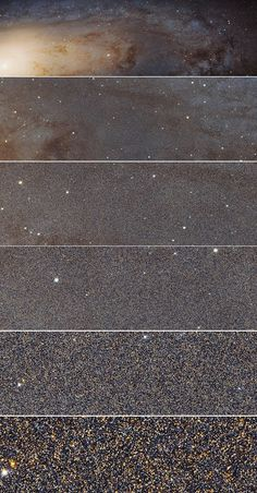 The NASA/ESA Hubble Space Telescope has captured the sharpest and biggest image ever taken of the Andromeda galaxy a whopping 69,536 x 22,230 pixels. Google+