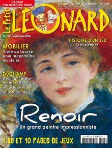 Revue Le Petit Léonard nº194 : Renoir