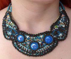 Necklace Embellishment Necklace Decoration by NazoDesign on Etsy