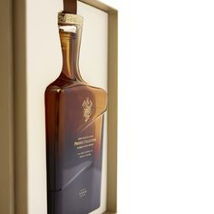 Johnnie Walker and Son's Private Collection Limited Release – 2016 Edition — The Dieline - Branding & Packaging Design Designed by Force Majeure Luxury Packaging, Brand Packaging, Johnnie Walker Whisky, Creativity And Innovation, Packaging Design Inspiration, Whiskey Bottle, Liquor, Alcohol, Perfume