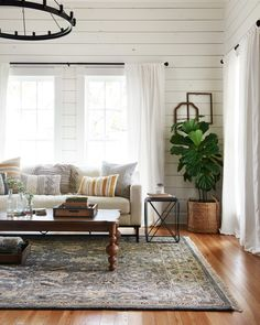 With subdued colors and traditional designs, the Hanover rug for Magnolia Home by Joanna Gaines is rooted in simple, timeless design.