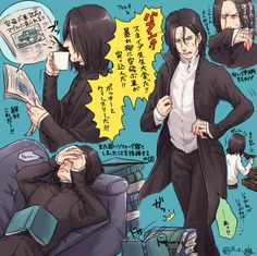Uploaded by AnaStasion. Find images and videos about art, harry potter and severus snape on We Heart It - the app to get lost in what you love. Harry Potter More, Harry Potter Severus Snape, Severus Rogue, Harry Potter Anime, Harry Potter Fan Art, Harry Potter Fandom, Harry Potter Hogwarts, Slytherin, Severus Hermione