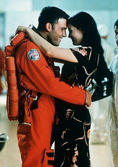 """Armageddon (1998) --- Im listening to """"I dont wanna miss a thing"""" now and even I haven't watched it for a while I still feel very touched when I think about it."""