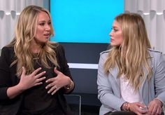 Hilary Duff Reveals She Was Judged After She Stopped Breastfeeding Luca, Talks ''Mommy Wars'' With Sister Haylie  Hilary Duff, Haylie Duff