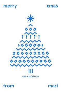 Merry Xmas from Mari on Behance