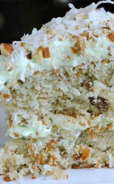 Watergate cake recipe pistachio