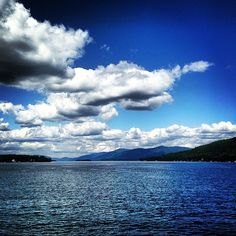 this is pretty much where i live..... Lake George, NY #adirondacks << my home
