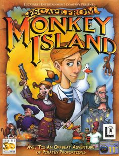 """You fight like a dairy farmer."" - Guybrush Threepwood.   Ahh the good old days"