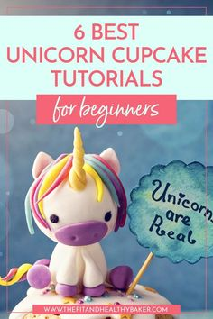 Looking for unicorn party ideas that'll wow the crowd? These magical unicorn cupcake tutorials are easy to make even if you're just starting to decorate cupcakes. Click through for 6 Easy Unicorn Cupcake Tutorials For Beginners. Cake Decorating For Beginners, Cake Decorating Techniques, Cake Decorating Tips, Unicorn Cupcakes, Unicorn Party, Cupcake Art, Cupcake Cakes, Cupcake Ideas, Cupcake Recipes