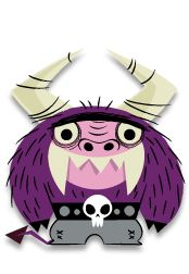 Eduardo is one of my favorite characters on Foster's Home for Imaginary Friends. Although, really, I love them all (except maybe for Cheese).