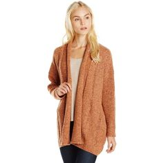 Rebecca Minkoff Women's Sonic Cardigan ($96) ❤ liked on Polyvore featuring tops, cardigans, cardigan top, thick knit cardigan, rebecca minkoff top, rebecca minkoff and chunky knit cardigan