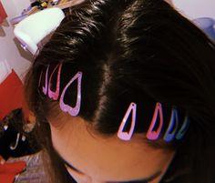 Summer x aesthetic hair Hair Barrettes, Hair Clips, Curly Hair Styles, Natural Hair Styles, 90s Hairstyles, Aesthetic Hair, Grunge Hair, About Hair, Sarah Jessica Parker