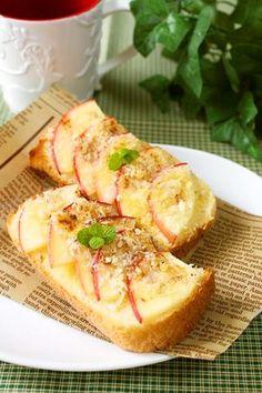Apple Toast ☸簡単♪アップルパイ風りんごトースト☸