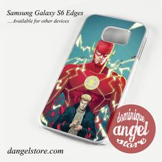 Barry Allen The Flash Phone Case for Samsung Galaxy S3/S4/S5/S6/S6 Edge/S6 Edge Plus