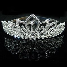This list is for One Wedding Rhinestone Bridal Crystal Hair Headband Crown Comb Tiara Prom Pageant. Beautiful and fashionable crown headband. The delicate Rhinestone Crown brings you uniqueness. Crystal Headband, Crown Headband, Hair Crown, Crystal Crown, Headband Hair, Bridal Crown, Bridal Tiara, Rhinestone Wedding, Crystal Rhinestone