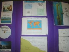 Elementary Ocean Lapbook