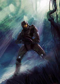 Master Chief - Halo - WhoAmI01.deviantart.com