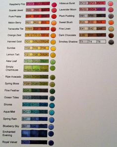 Michelle's MBellishments: How to Select Copic Marker colors... Continued