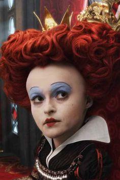 Helena Bonham Carters Red Queen in Alice in Wonderland